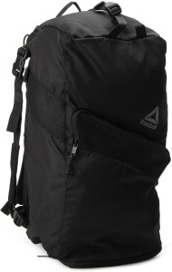 3a465b932128 Reebok ACT ENH CONV GRIP Travel Duffel Bag Black Best Price in India ...