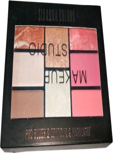 Sivanna Colors Makeup Studio Pro Blush \u0026 Contour \u0026 PalettePack of 8