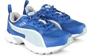 Puma Boys Girls Lace Running Shoes Blue Best Price in India  45adddffa