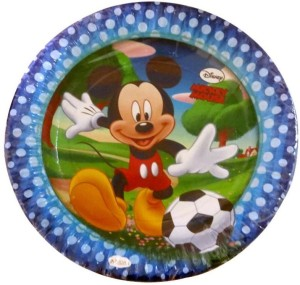 Funcart Mickey Mouse Theme Plate