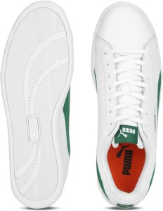 f79cd8d2aabf Puma Puma Smash L IDP Sneakers For Men White Green Best Price in ...