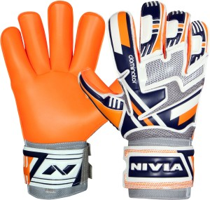 Nivia Dominator Goalkeeper Gloves Goalkeeping Gloves (M, Multicolor)