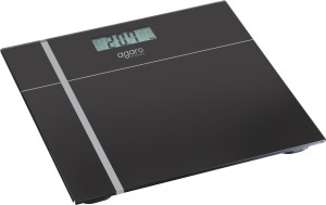 Agaro Glass Top Electronic Personal Scale_WS503B Weighing Scale