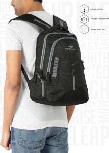 4b6350b8b3 Metronaut CONTRAST Black Grey 19 8 L Backpack Black Best Price in ...