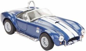Kinsmart 1965 Shelby Cobra 427 S/C   5'' Die Cast Metal Doors Openable Pull   Blue Blue