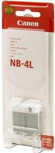 Canon NB-4L Camera Lithium-ion