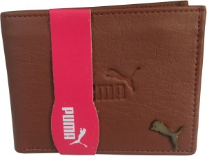 Puma Men Brown Artificial Leather Wallet