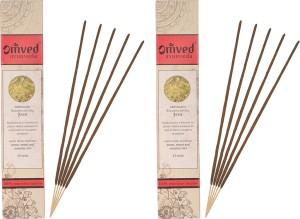 Omved Sambrani Ayurvedic Incense, Pack of 2 Sambrani Agarbattis12 Sticks
