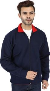 American Falcon Full Sleeve Solid Men Sweatshirt