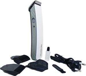 Profiline NS216 White Side Designed Rechargeable Barber Scissors Professional Men Electric Shaver Adult Razor Hair Clipper Cordless Trimmer Cordless Trimmer