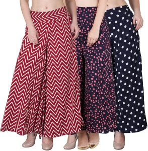 Phashion Town Regular Fit Women's Multicolor Trousers