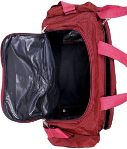 Inte Enterprises red699 Expandable Duffel Strolley Bag Red Best ... 01619459919f8
