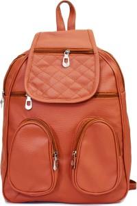 SPLICE PU Leather Backpack School Bag Student Backpack Women Travel bag 6 Backpack