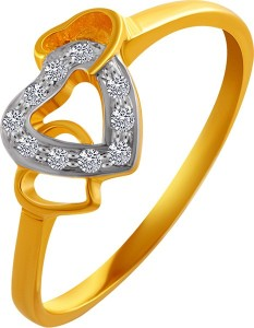 PC Chandra Jewellers Valentine's Day 14kt Yellow Gold ring
