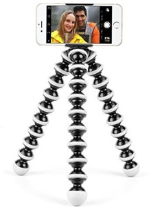 king shine Flexible Mini TriPod ( 6 Inch Height) For Camera, Dslr And Smartphones With Universal Mobile Attachment Tripod