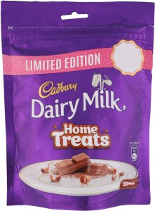 Cadbury Dairy Milk Home Treats Chocolate Bars