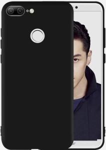 best service 9d6b5 9323f Aspir Back Cover for Honor 9 LiteBlack, Silicon