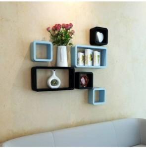 CraftOnline wooden book rack shelf Wooden Wall Shelf