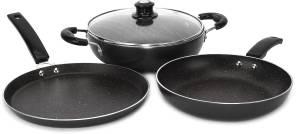 Flipkart SmartBuy Splatter Finish Cookware Set of 3