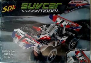 Mohaak Gallery SUV Car Model Interlocking Building Blocks