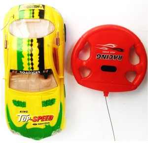 P17 collection Remote control gravity sensor car for kids Yellow