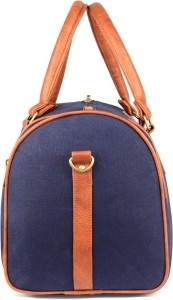 The Clownfish Cotton Canvas Travel Duffel 19 inch 48 cm Travel Duffel Bag Blue 469385b4d0872