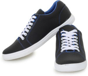 D-SNEAKERZ Casual , Partywear Sneakers Shoes For Men's And Boys Black Color Party Wear For Men