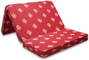SLEEP SPA SOFT BOUNCE 3-FOLD PREMIUM ORTHOPAEDIC 4 inch Single High Density (HD) Foam Mattress