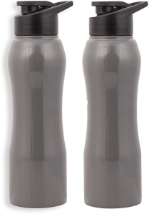 c64ddcf35c Zafos Stainless Steel Sipper Water Bottle 750ml Ash Grey 2pc Won t ...