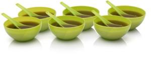 BM Kitchenware Plastic Bowl Set Green