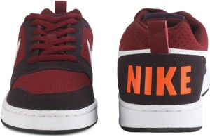 Nike COURT BOROUGH LOW Sneakers For Men Red Best Price in India ... c27650902