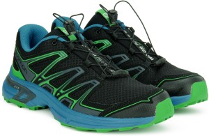 official photos af40c a4e42 Salomon Wings Flyte 2 Trail Running Shoe For Men ( Black Blue )