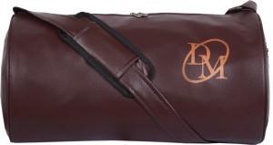 Dee Mannequin Unisex Dark Brown Leatherite Gym Bag