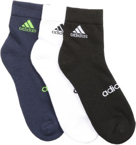 ADIDAS Men's Solid Ankle Length