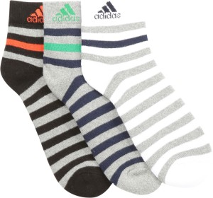 ADIDAS Men's Striped Ankle Length