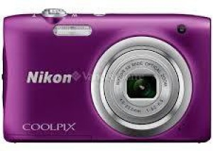 Nikon COOLPIX A 100 PURPLE Point and Shoot Camera