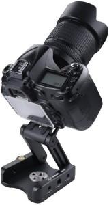 E-image MH-10 / FH-10 DSLR Camera CNC Folding Z Tripod Flex Pan Tilt Ball Head Desktop Stand Holder For Sony Nikon Panasonic Lumix Payload Upto 3.5Kg Tripod Ball Head
