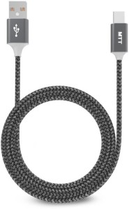 MTT Braided USB 2.0A To USB C Type Cable