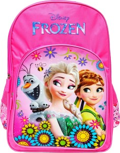 a51f17122e98 Disney Frozen Floral Pink 18 School Bag Pink 35 L Best Price in ...
