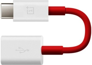 anweshas Premium Quality OTG Cable Usb Female To Type C Male Data cable Red for One Plus, LeEco, Letv, Type C, C Type OTG Cable