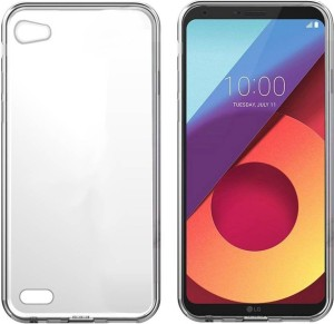 the best attitude 6b3b9 b49b3 Uno Covers Back Cover for LG q6trnasparent, Waterproof, Flexible Case