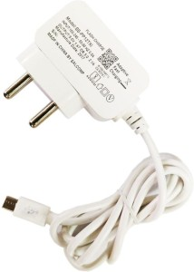 Anweshas Fast Travel Charger Micro Usb Wall Charger 2.1 Compatible Mobile Charger White