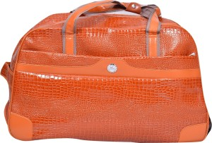 pragee 18 inch/46 cm (Expandable) exclusive stylish pu leather duffle bag Travel Duffel Bag