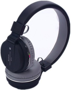 CloneBeatz JLU_SH 12 opp bluetooth Headphone With SD Card Alot and FM Bluetooth Headset with Mic