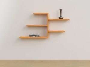 MartCrown designer wall shelf and racks shelf Wooden Wall Shelf
