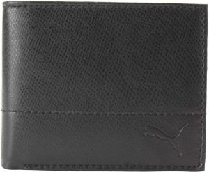 Puma Men Black Canvas Wallet