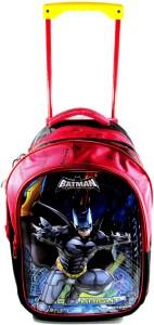 Ehuntz Batman 5D embossed Trolley school/travel bag (9 to 17 years) EH790 Waterproof School Bag