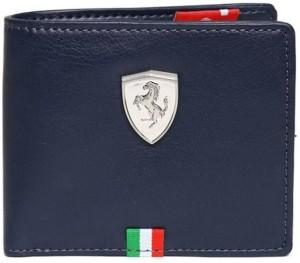 Puma Men Blue Artificial Leather Wallet