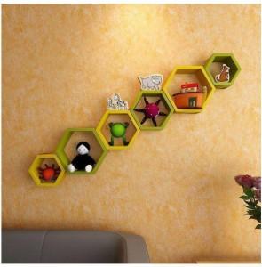MartCrown new wall shelf book racks Wooden Wall Shelf