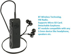 f4287133135 Zebronics FAITH Bluetooth Headset with Mic Black In the Ear Best ...